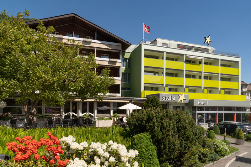 The Hotel Stella in Interlaken
