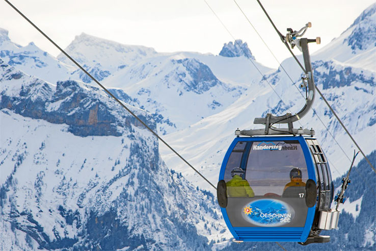 Kandersteg cable car