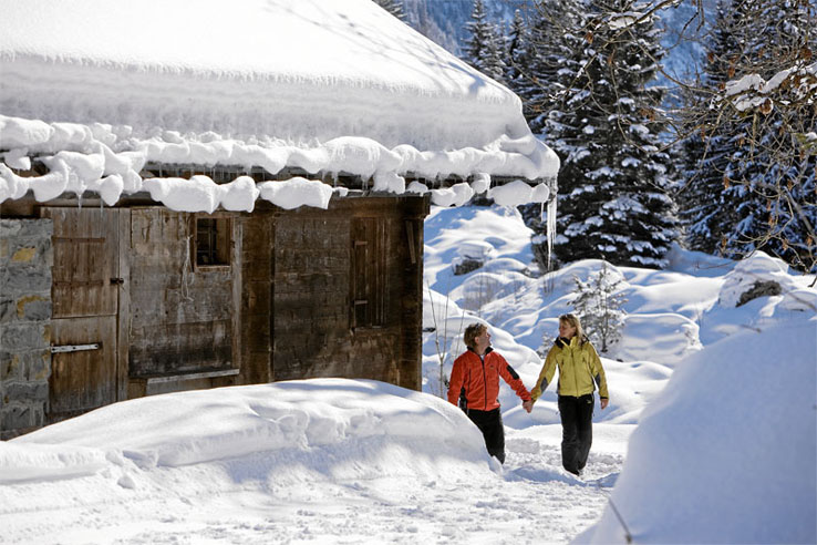 Winter walking, Kandersteg