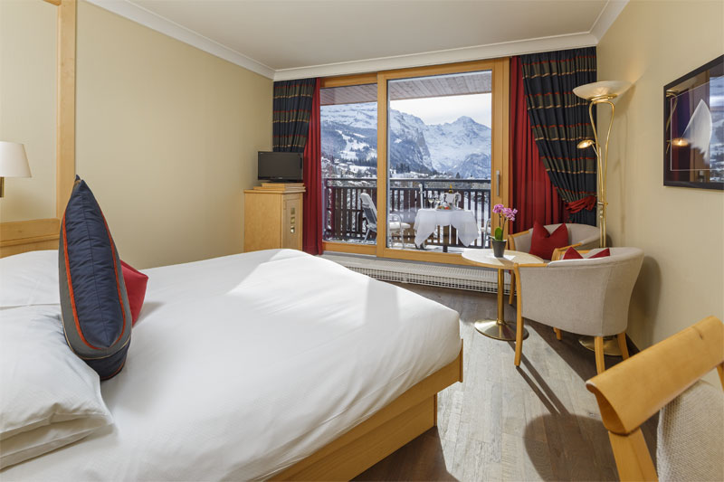 Upgrade to a Jungfrau view room