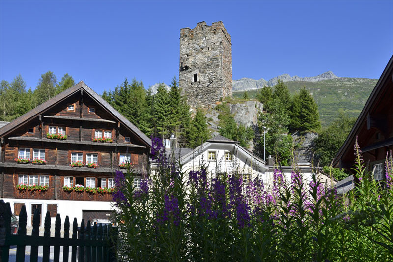 Hospental, near Andermatt