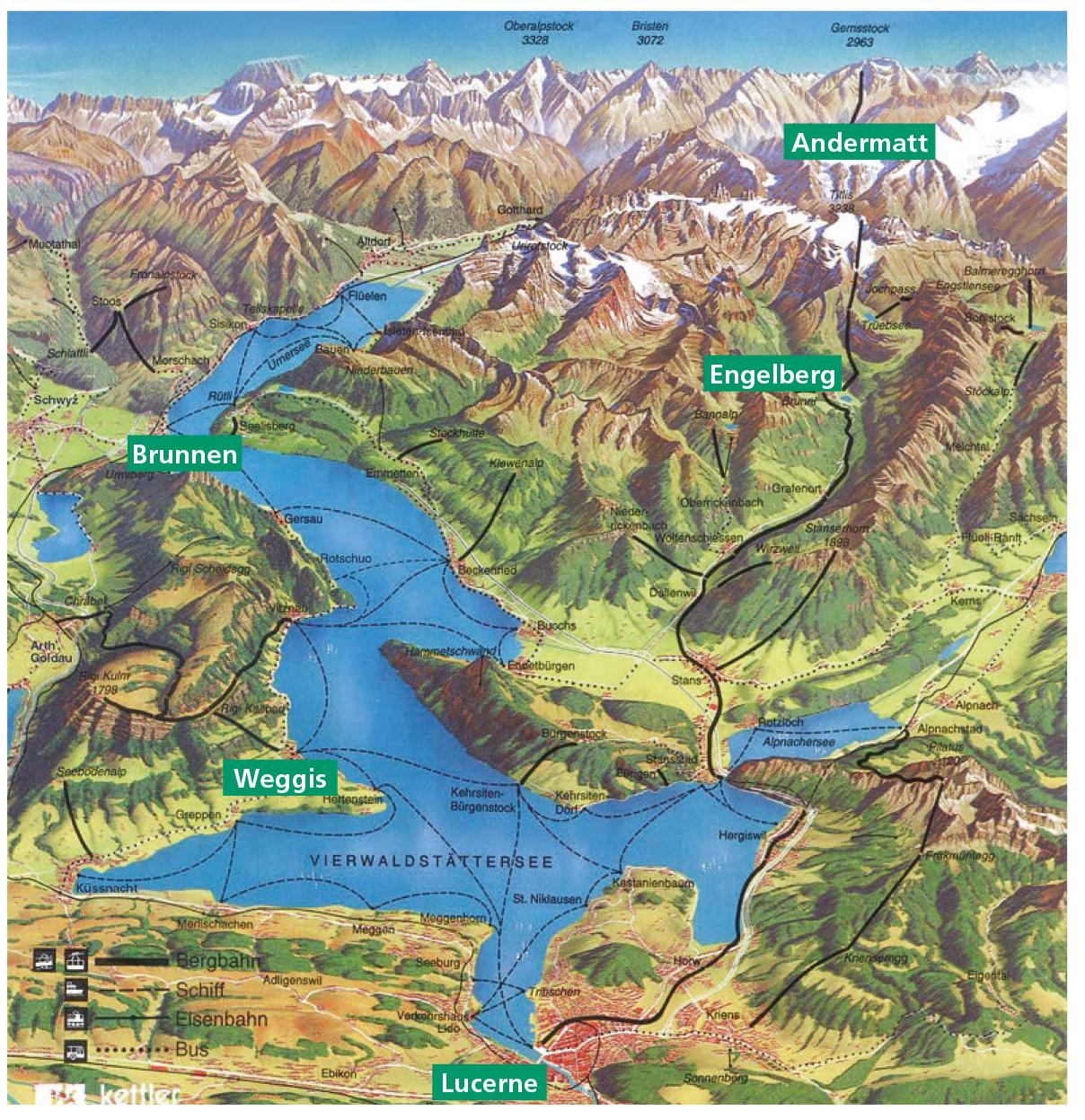 Central Switzerland Holidays 2019 | Swiss Holiday Company