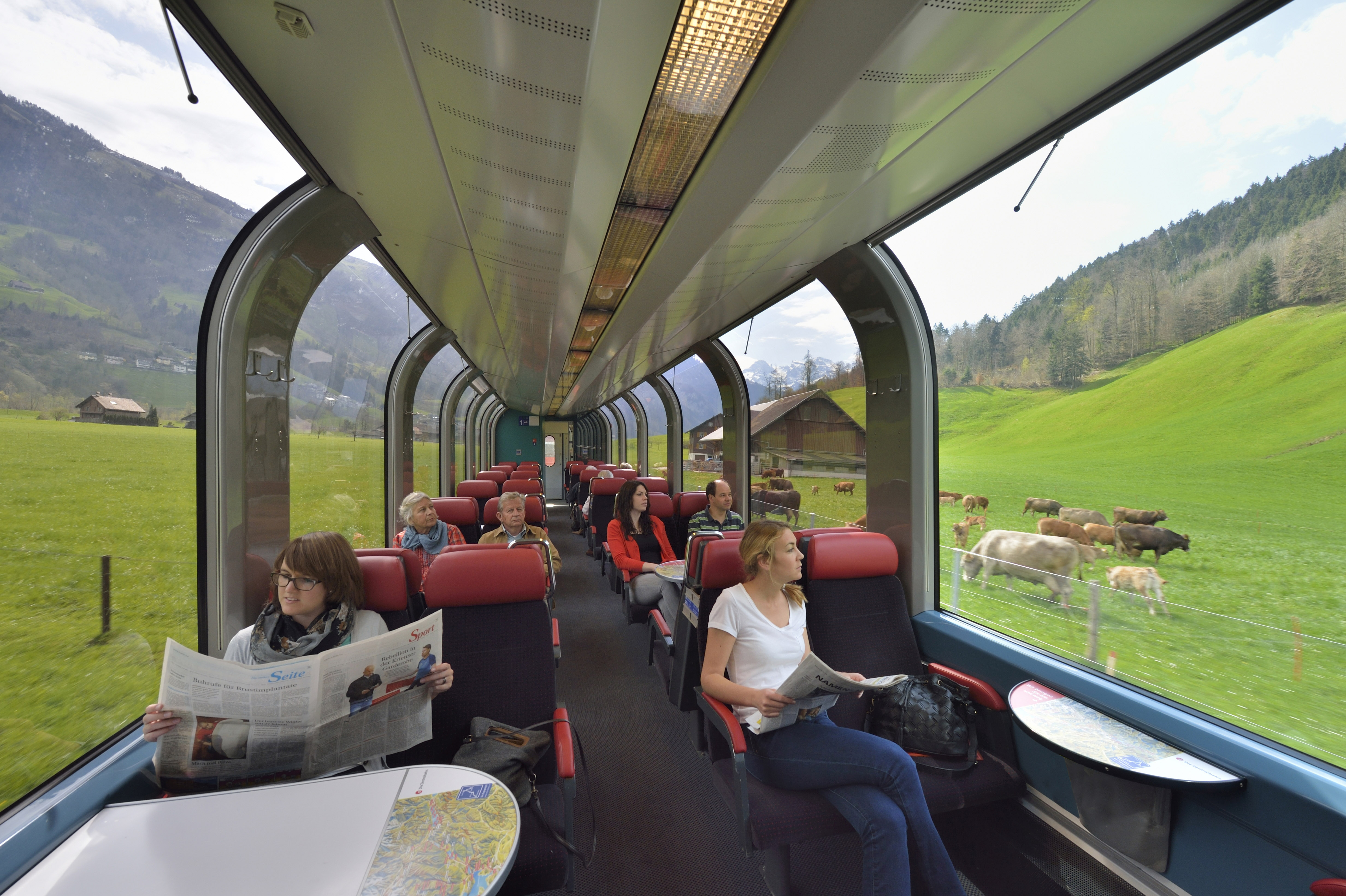 Luzern-Engelberg Express carriage