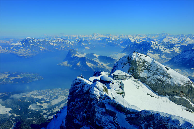Winter on Pilatus