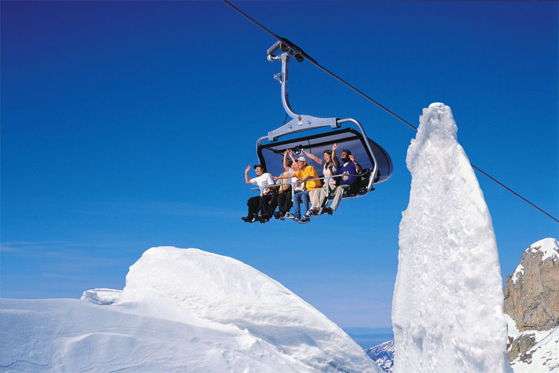 Ice Flyer, Mount Titlis