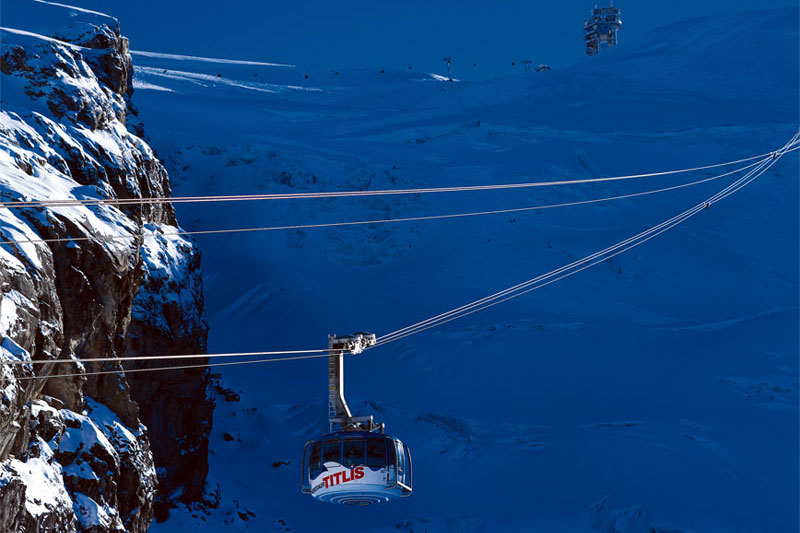 Rotating cable car, Mount Titlis