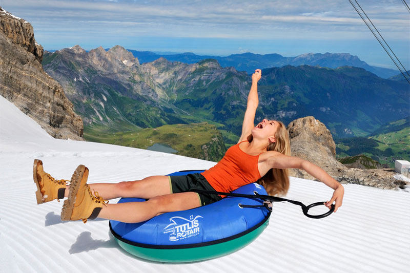 Summer fun on Mount Titlis