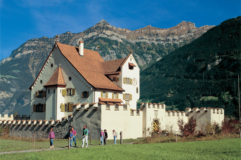 Castle at Seedorf