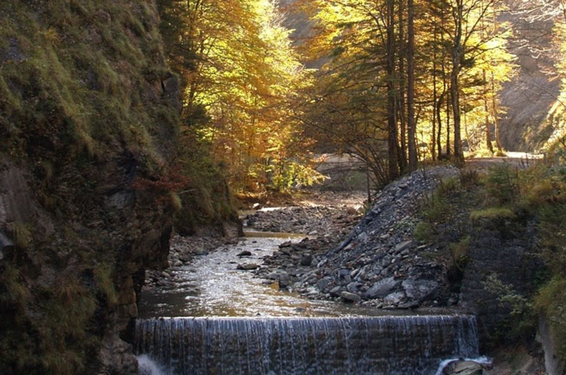 Tamina Gorge, near Bad Ragaz