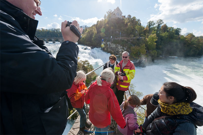 Experience the Rhine Falls