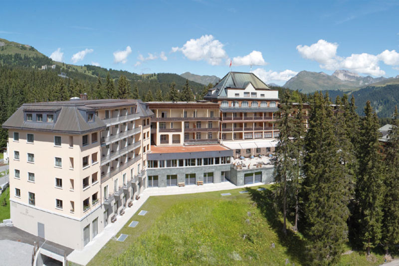 The Waldhotel National enjoys a fabulous position