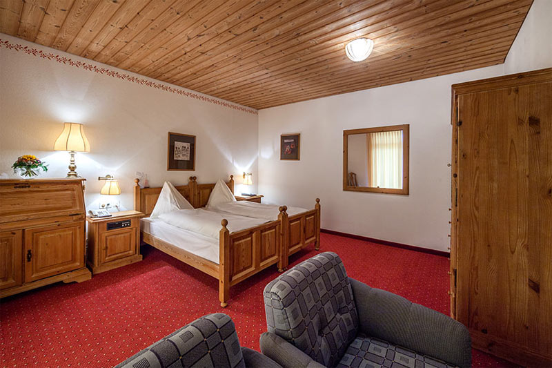 Double room in the Waldhotel