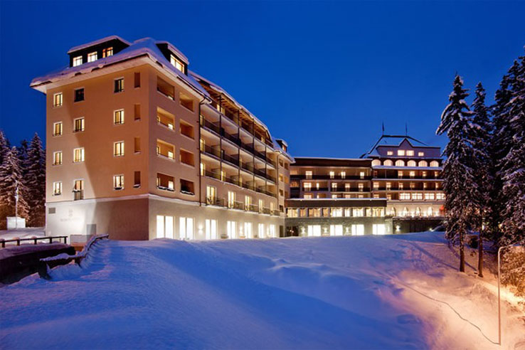 Waldhotel National, Arosa