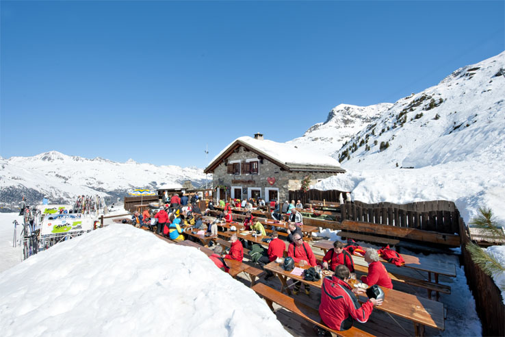 Mountain restaurant Corvatsch