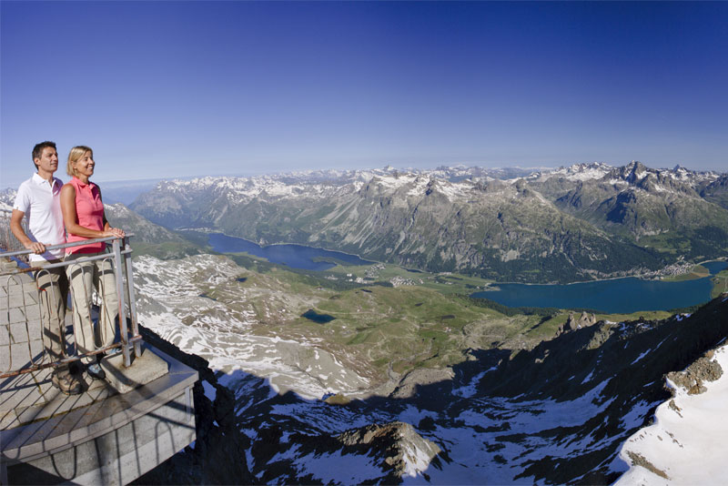 Corvatsch viewing platform
