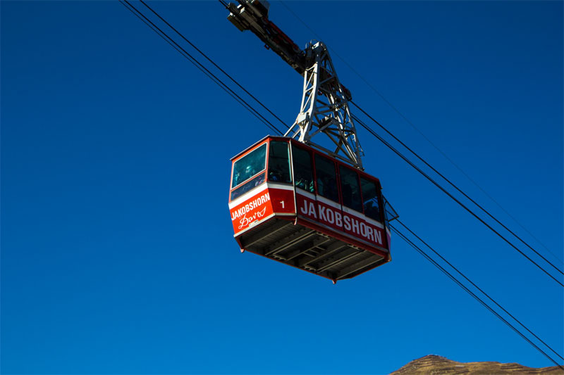 Jakobshorn cable car