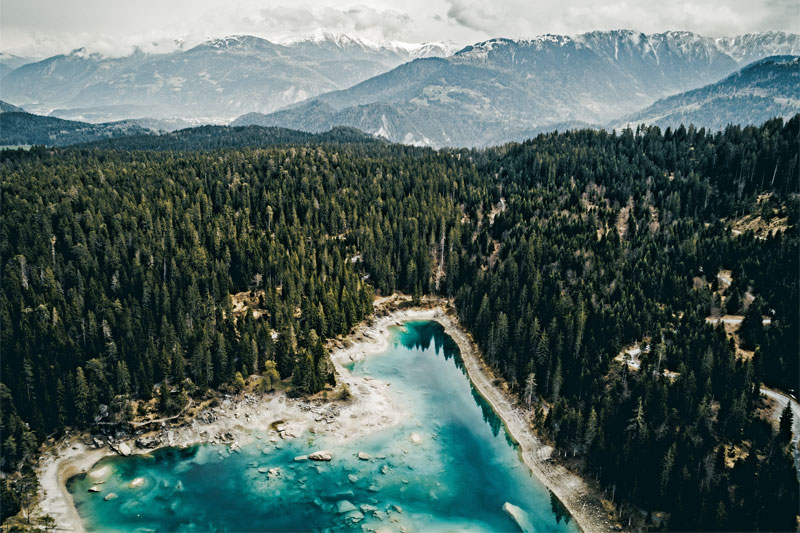 Lake Cauma, Flims