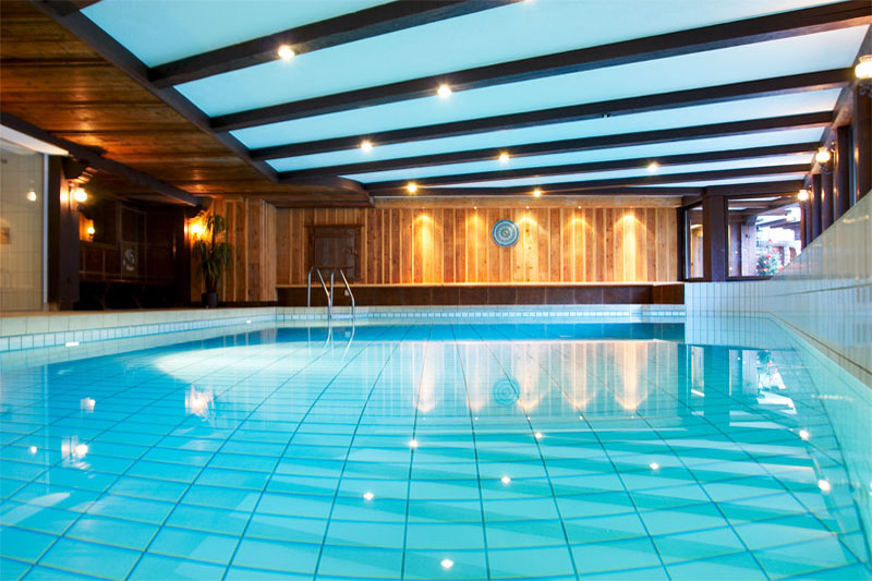 The Alpina has an indoor pool