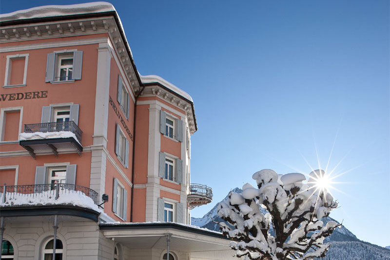 Enjoy Scuol in the winter