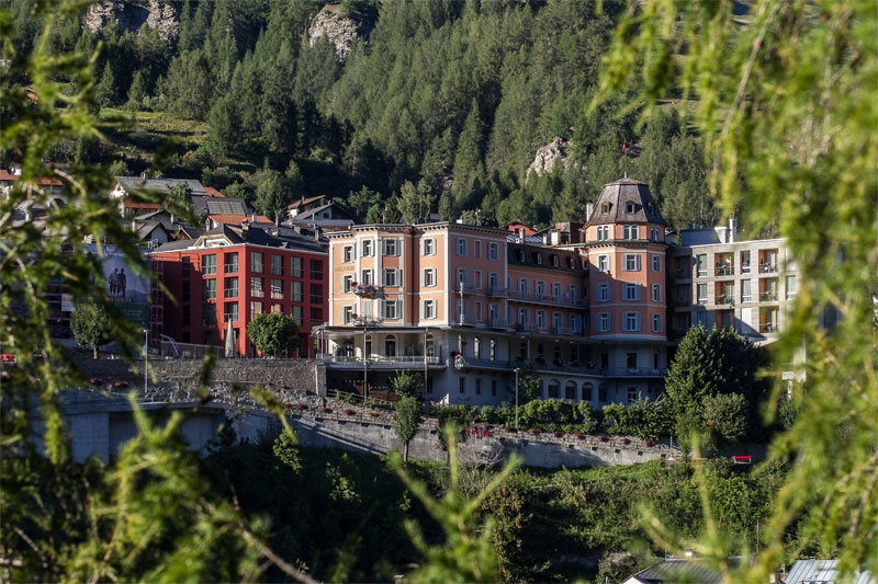 The Hotel Belvedere, Scuol