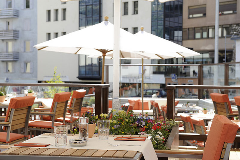 Enjoy the Acla Garden Terrace
