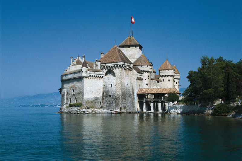 Chillon on Lake Geneva