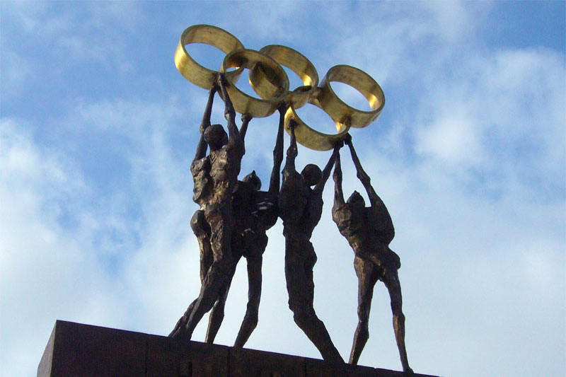 Olympic statue, Lausanne