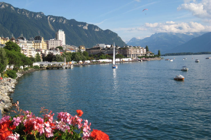 Montreux quayside
