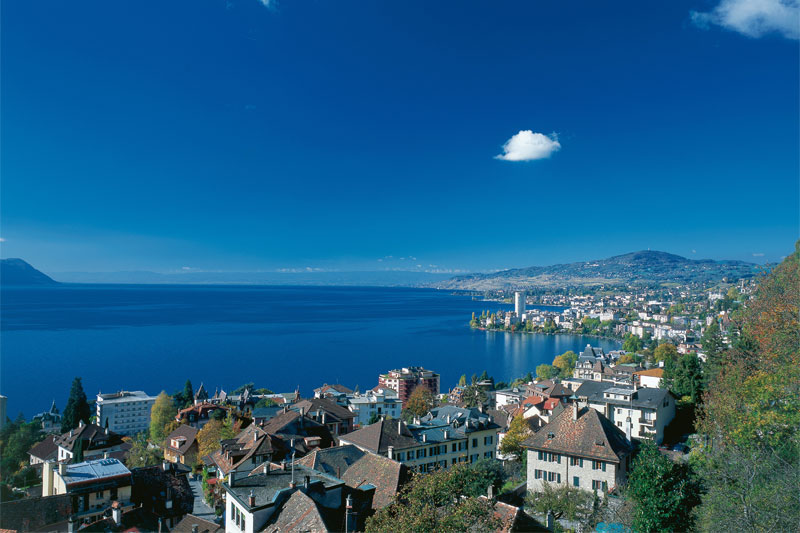 Montreux on Lake Geneva