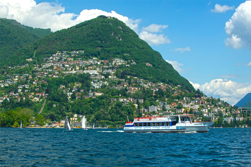 Lake Lugano cruise