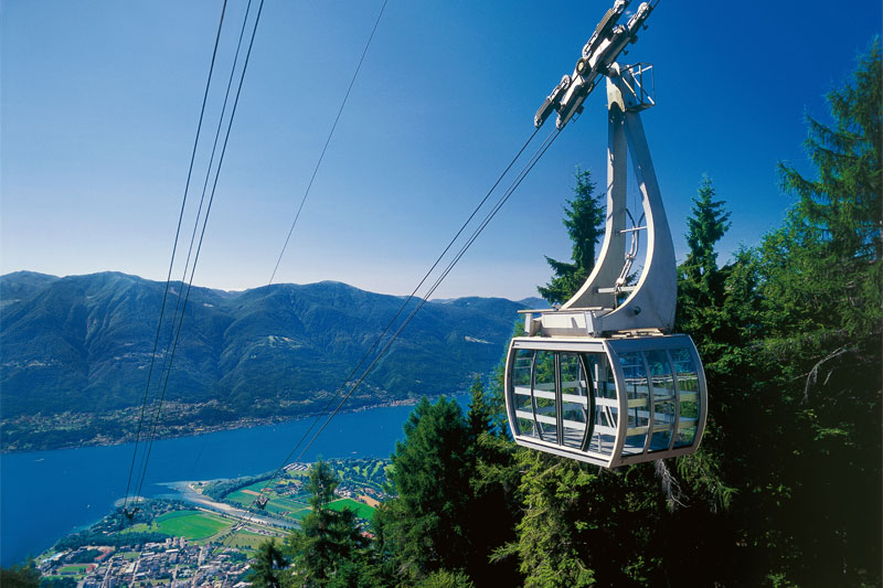 Cable car to Cardada