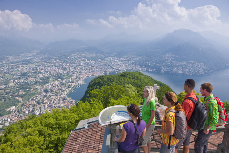 San Salvatore viewing point