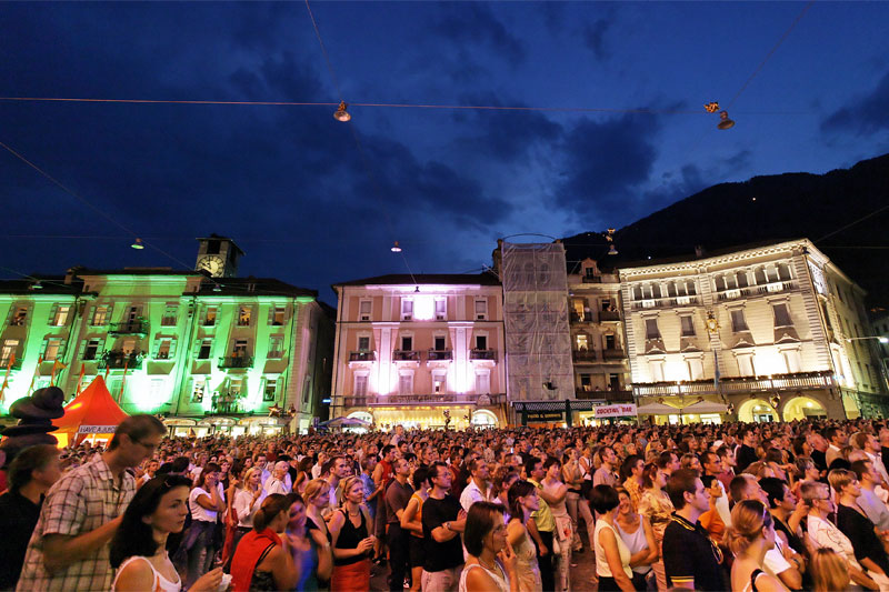 Moon and Stars Festival in Locarno