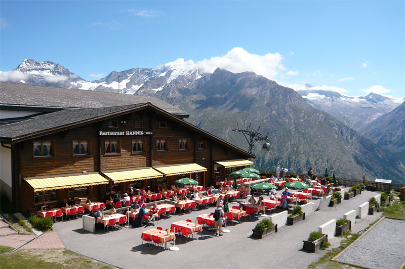 Hannig mountain restaurant