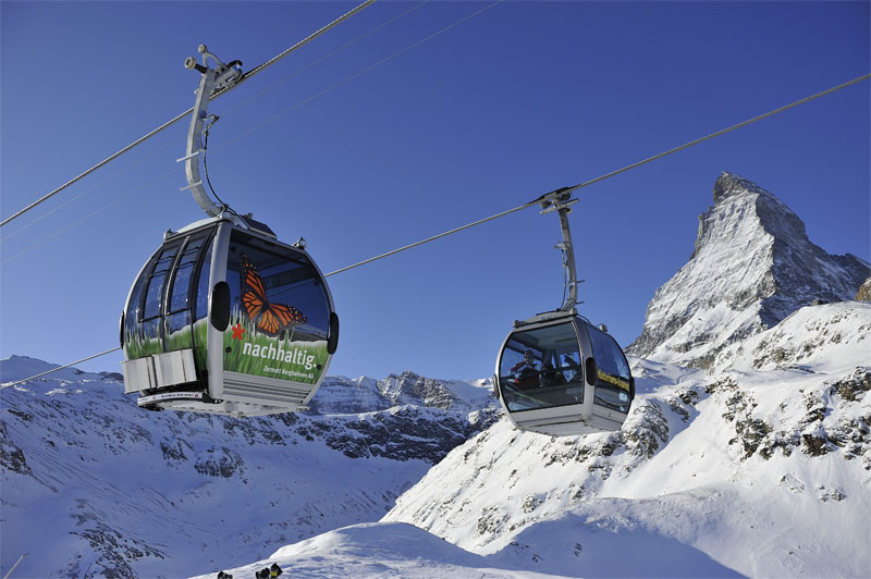 Matterhorn Express cable cars