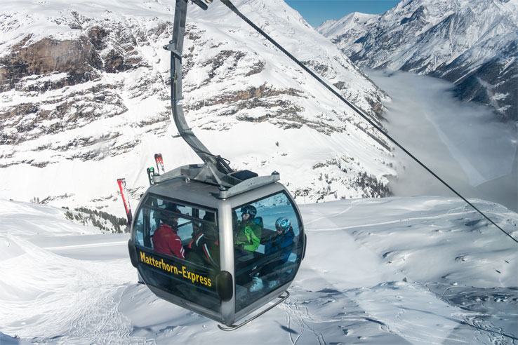 Zermatt cable car