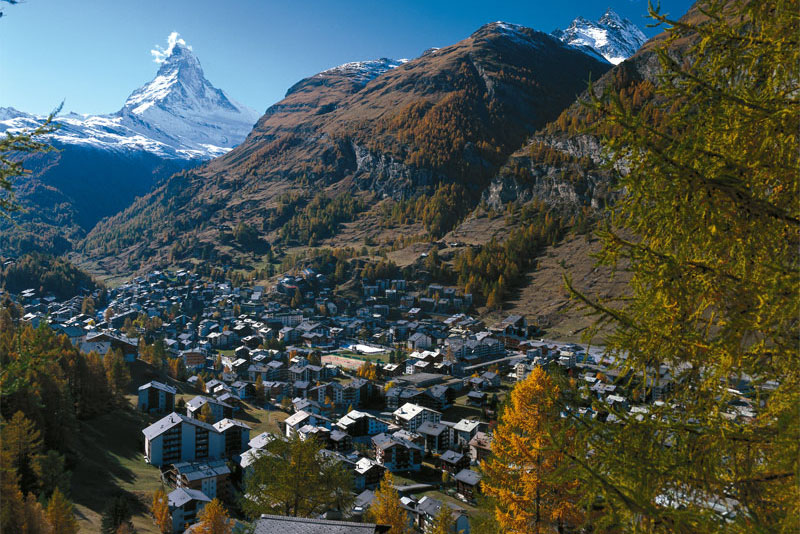 Zermatt with the Matterhorn