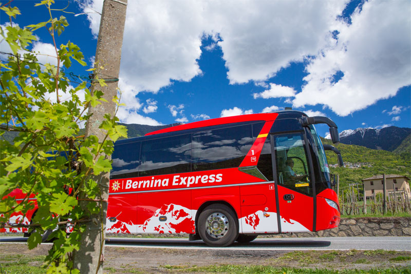 Bernina Express bus
