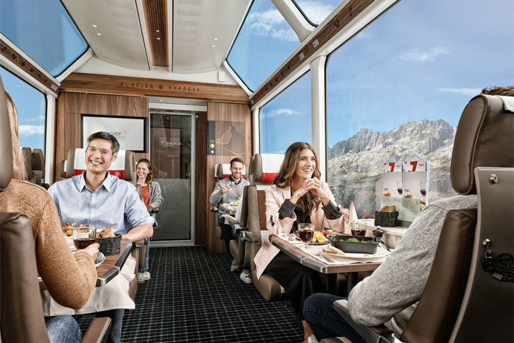 Glacier Express 1st class carriage