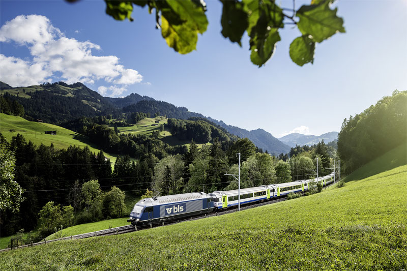 Journey between Interlaken and Zweisimmen