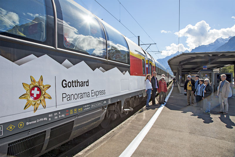 Gotthard Panorama Express carriage