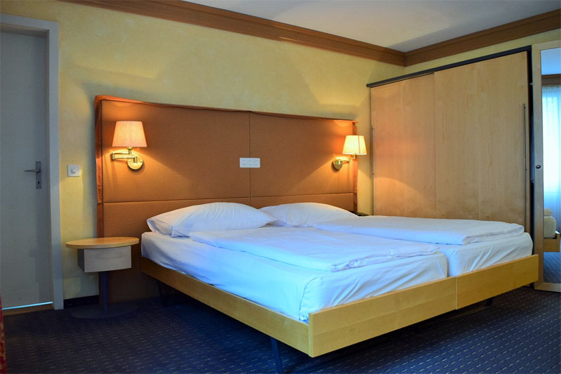 Example of a standard room at the hotel