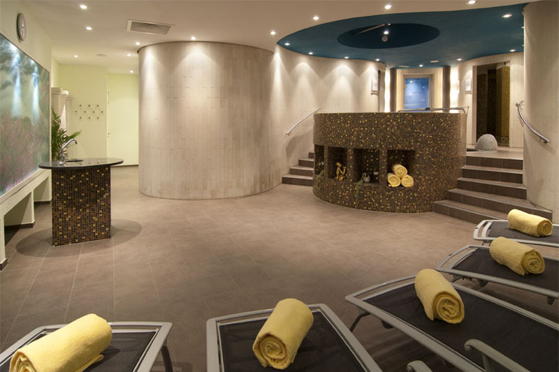 Further view of the hotel's wellness area