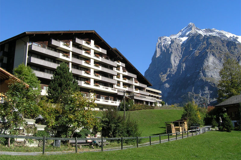 The Sunstar is centrally located in Grindelwald