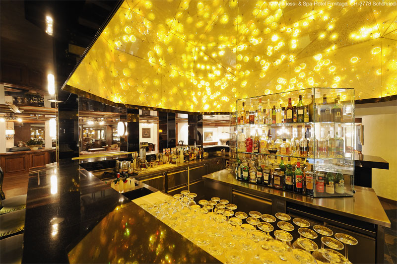 The 'One Million Stars' piano bar is a convivial spot for a drink
