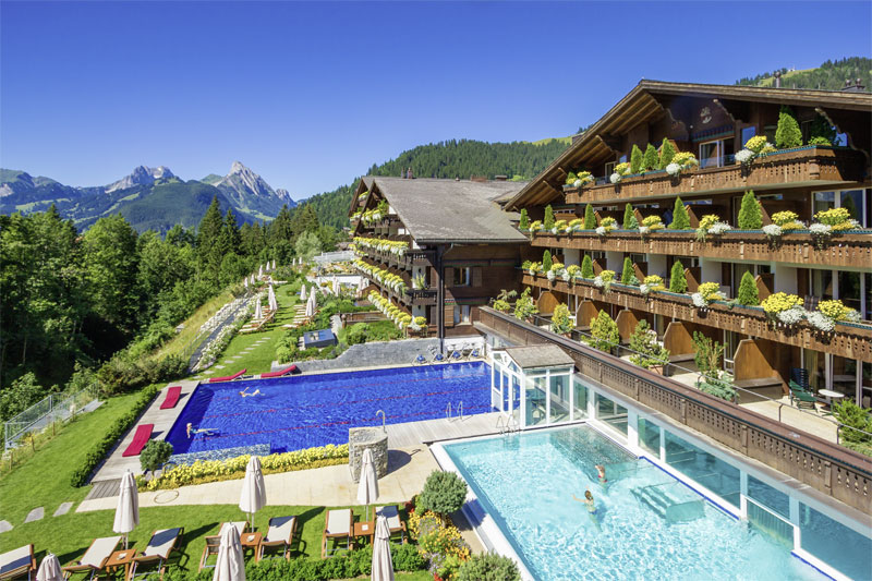 The Ermitage has a fantastic alpine location