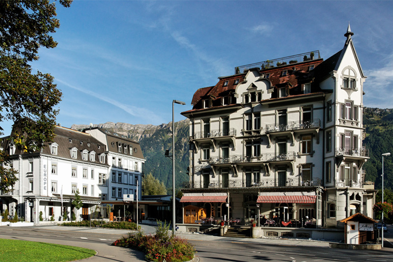 The Carlton Europe is a historic hotel