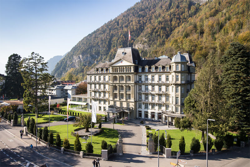 Grand Hotel Beau Rivage, Interlaken