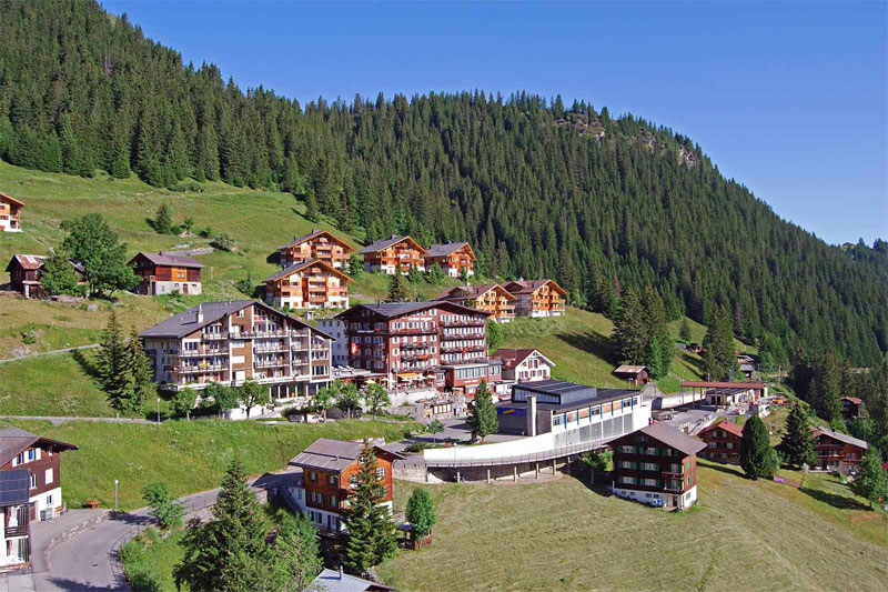 The Hotel Eiger, in peaceful Mürren