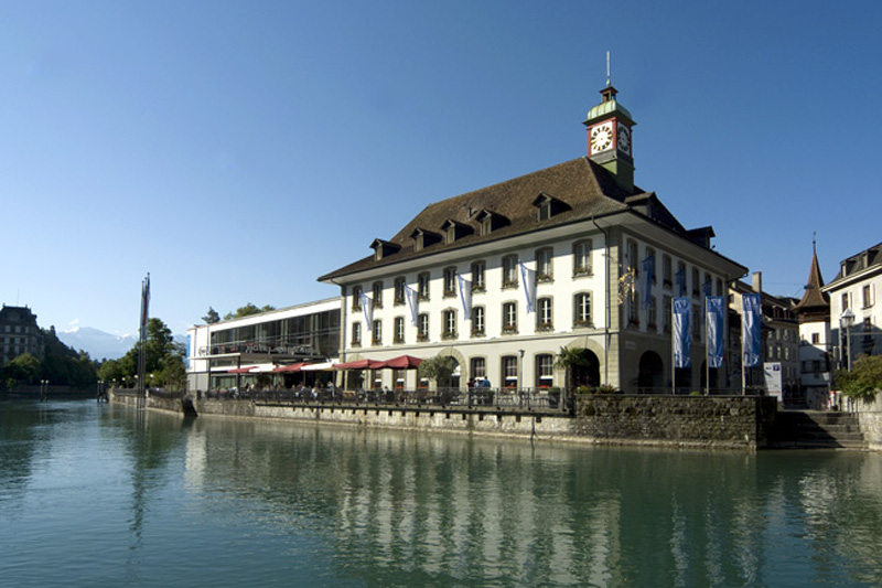 The Freienhof has a lovely position in Thun